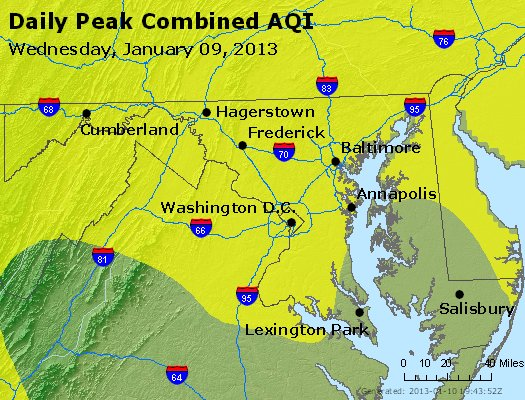 Peak AQI - https://files.airnowtech.org/airnow/2013/20130109/peak_aqi_maryland.jpg