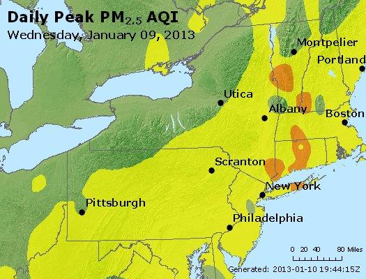 Peak Particles PM2.5 (24-hour) - https://files.airnowtech.org/airnow/2013/20130109/peak_pm25_ny_pa_nj.jpg
