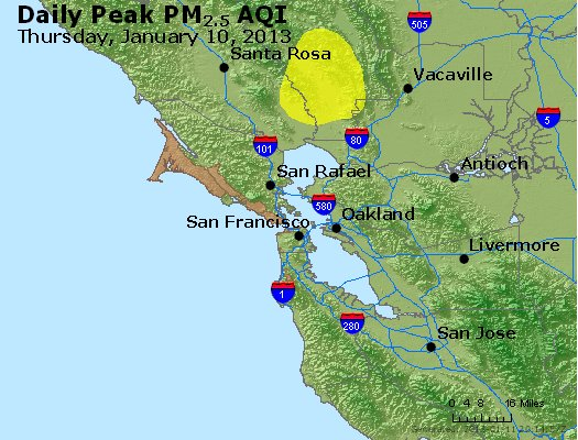 Peak Particles PM<sub>2.5</sub> (24-hour) - https://files.airnowtech.org/airnow/2013/20130110/peak_pm25_sanfrancisco_ca.jpg
