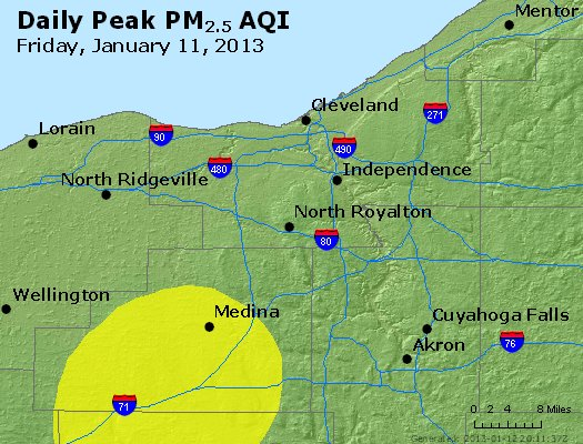 Peak Particles PM2.5 (24-hour) - https://files.airnowtech.org/airnow/2013/20130111/peak_pm25_cleveland_oh.jpg