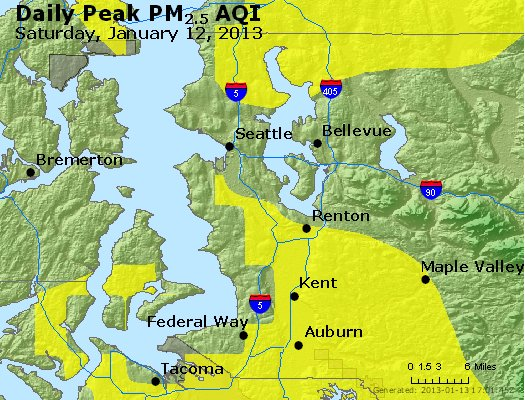 Peak Particles PM<sub>2.5</sub> (24-hour) - https://files.airnowtech.org/airnow/2013/20130112/peak_pm25_seattle_wa.jpg