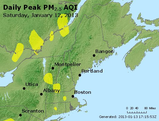 Peak Particles PM<sub>2.5</sub> (24-hour) - https://files.airnowtech.org/airnow/2013/20130112/peak_pm25_vt_nh_ma_ct_ri_me.jpg