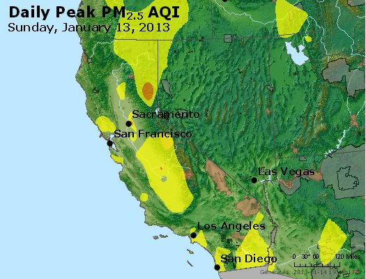 Peak Particles PM2.5 (24-hour) - https://files.airnowtech.org/airnow/2013/20130113/peak_pm25_ca_nv.jpg