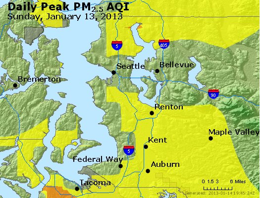 Peak Particles PM<sub>2.5</sub> (24-hour) - https://files.airnowtech.org/airnow/2013/20130113/peak_pm25_seattle_wa.jpg