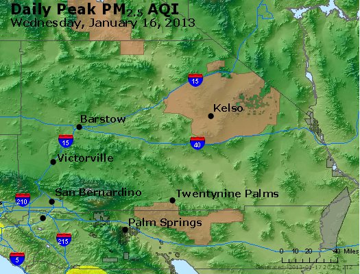 Peak Particles PM<sub>2.5</sub> (24-hour) - https://files.airnowtech.org/airnow/2013/20130116/peak_pm25_sanbernardino_ca.jpg