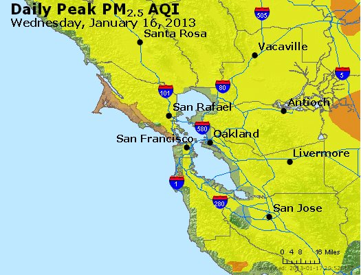 Peak Particles PM<sub>2.5</sub> (24-hour) - https://files.airnowtech.org/airnow/2013/20130116/peak_pm25_sanfrancisco_ca.jpg