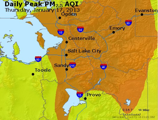 Peak Particles PM<sub>2.5</sub> (24-hour) - https://files.airnowtech.org/airnow/2013/20130117/peak_pm25_saltlakecity_ut.jpg