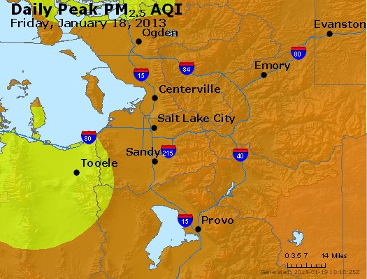 Peak Particles PM<sub>2.5</sub> (24-hour) - https://files.airnowtech.org/airnow/2013/20130118/peak_pm25_saltlakecity_ut.jpg