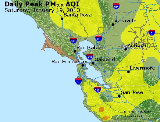 Peak Particles PM<sub>2.5</sub> (24-hour) - https://files.airnowtech.org/airnow/2013/20130119/peak_pm25_sanfrancisco_ca.jpg
