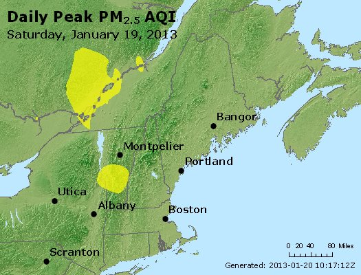 Peak Particles PM<sub>2.5</sub> (24-hour) - https://files.airnowtech.org/airnow/2013/20130119/peak_pm25_vt_nh_ma_ct_ri_me.jpg