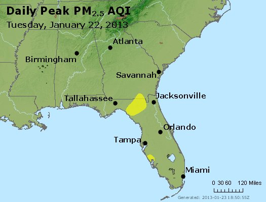Peak Particles PM2.5 (24-hour) - https://files.airnowtech.org/airnow/2013/20130122/peak_pm25_al_ga_fl.jpg