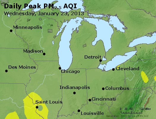 Peak Particles PM2.5 (24-hour) - https://files.airnowtech.org/airnow/2013/20130123/peak_pm25_mi_in_oh.jpg