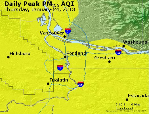 Peak Particles PM<sub>2.5</sub> (24-hour) - https://files.airnowtech.org/airnow/2013/20130124/peak_pm25_portland_or.jpg