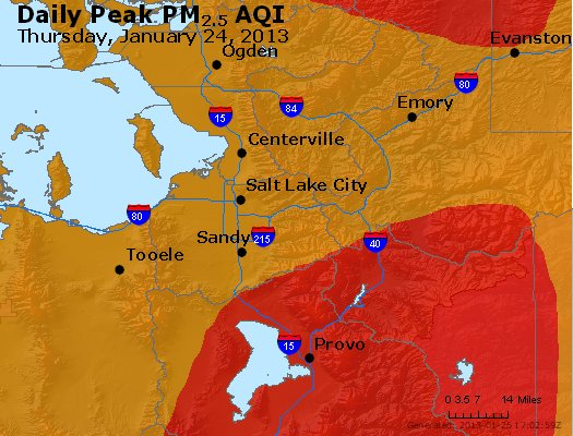 Peak Particles PM<sub>2.5</sub> (24-hour) - https://files.airnowtech.org/airnow/2013/20130124/peak_pm25_saltlakecity_ut.jpg