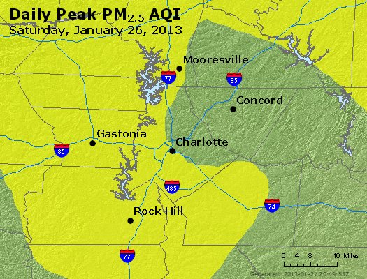 Peak Particles PM<sub>2.5</sub> (24-hour) - https://files.airnowtech.org/airnow/2013/20130126/peak_pm25_charlotte_nc.jpg