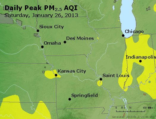 Peak Particles PM<sub>2.5</sub> (24-hour) - https://files.airnowtech.org/airnow/2013/20130126/peak_pm25_ia_il_mo.jpg