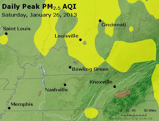 Peak Particles PM<sub>2.5</sub> (24-hour) - https://files.airnowtech.org/airnow/2013/20130126/peak_pm25_ky_tn.jpg
