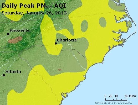 Peak Particles PM2.5 (24-hour) - https://files.airnowtech.org/airnow/2013/20130126/peak_pm25_nc_sc.jpg