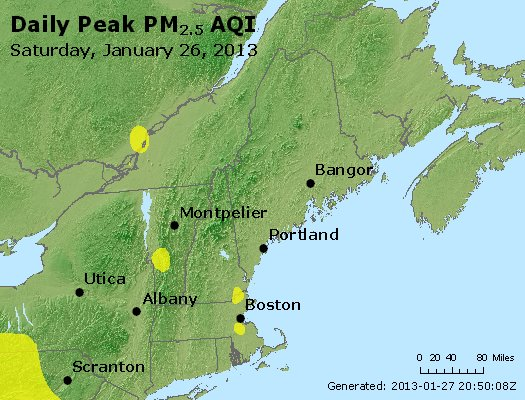 Peak Particles PM<sub>2.5</sub> (24-hour) - https://files.airnowtech.org/airnow/2013/20130126/peak_pm25_vt_nh_ma_ct_ri_me.jpg