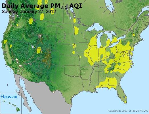 Peak Particles PM<sub>2.5</sub> (24-hour) - https://files.airnowtech.org/airnow/2013/20130127/peak_pm25_usa.jpg
