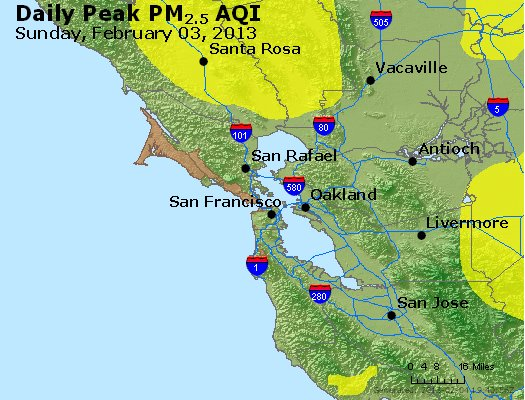 Peak Particles PM<sub>2.5</sub> (24-hour) - https://files.airnowtech.org/airnow/2013/20130203/peak_pm25_sanfrancisco_ca.jpg