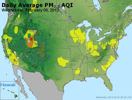 Peak Particles PM2.5 (24-hour) - https://files.airnowtech.org/airnow/2013/20130206/peak_pm25_usa.jpg
