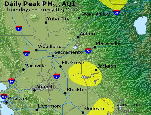 Peak Particles PM<sub>2.5</sub> (24-hour) - https://files.airnowtech.org/airnow/2013/20130207/peak_pm25_sacramento_ca.jpg