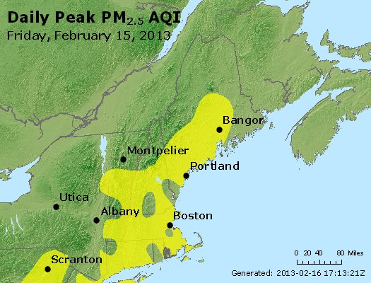 Peak Particles PM<sub>2.5</sub> (24-hour) - https://files.airnowtech.org/airnow/2013/20130215/peak_pm25_vt_nh_ma_ct_ri_me.jpg