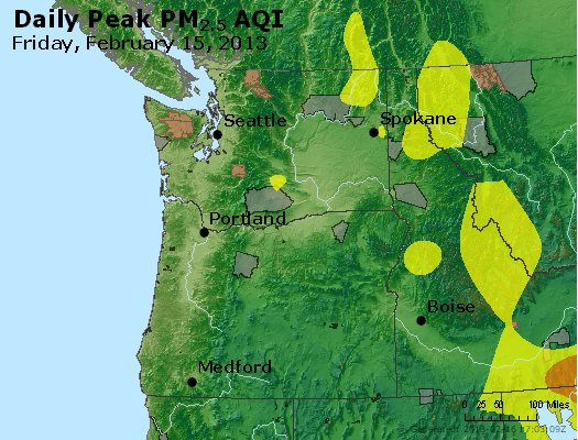 Peak Particles PM<sub>2.5</sub> (24-hour) - https://files.airnowtech.org/airnow/2013/20130215/peak_pm25_wa_or.jpg