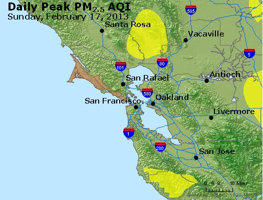 Peak Particles PM<sub>2.5</sub> (24-hour) - https://files.airnowtech.org/airnow/2013/20130217/peak_pm25_sanfrancisco_ca.jpg