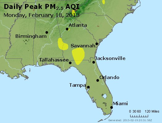 Peak Particles PM2.5 (24-hour) - https://files.airnowtech.org/airnow/2013/20130218/peak_pm25_al_ga_fl.jpg