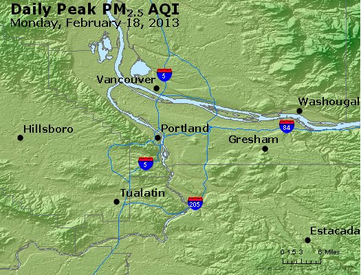 Peak Particles PM<sub>2.5</sub> (24-hour) - https://files.airnowtech.org/airnow/2013/20130218/peak_pm25_portland_or.jpg