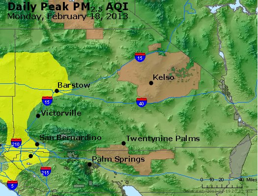 Peak Particles PM<sub>2.5</sub> (24-hour) - https://files.airnowtech.org/airnow/2013/20130218/peak_pm25_sanbernardino_ca.jpg