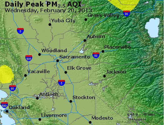 Peak Particles PM<sub>2.5</sub> (24-hour) - https://files.airnowtech.org/airnow/2013/20130220/peak_pm25_sacramento_ca.jpg