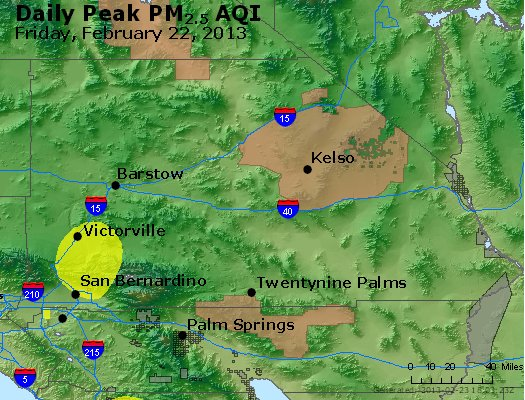 Peak Particles PM<sub>2.5</sub> (24-hour) - https://files.airnowtech.org/airnow/2013/20130222/peak_pm25_sanbernardino_ca.jpg