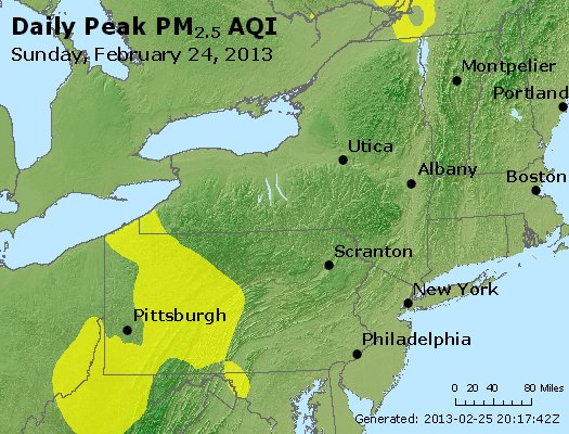 Peak Particles PM<sub>2.5</sub> (24-hour) - https://files.airnowtech.org/airnow/2013/20130224/peak_pm25_ny_pa_nj.jpg