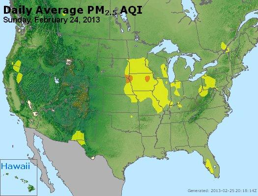 Peak Particles PM2.5 (24-hour) - https://files.airnowtech.org/airnow/2013/20130224/peak_pm25_usa.jpg