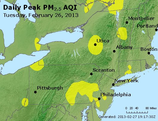 Peak Particles PM<sub>2.5</sub> (24-hour) - https://files.airnowtech.org/airnow/2013/20130226/peak_pm25_ny_pa_nj.jpg