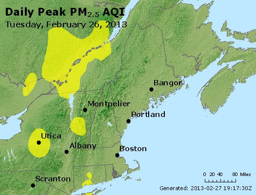 Peak Particles PM<sub>2.5</sub> (24-hour) - https://files.airnowtech.org/airnow/2013/20130226/peak_pm25_vt_nh_ma_ct_ri_me.jpg