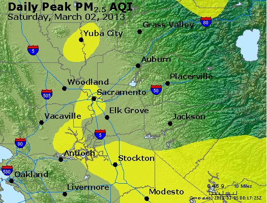 Peak Particles PM<sub>2.5</sub> (24-hour) - https://files.airnowtech.org/airnow/2013/20130302/peak_pm25_sacramento_ca.jpg