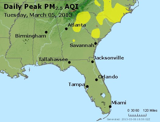 Peak Particles PM2.5 (24-hour) - https://files.airnowtech.org/airnow/2013/20130305/peak_pm25_al_ga_fl.jpg