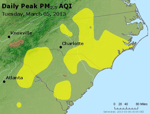 Peak Particles PM2.5 (24-hour) - https://files.airnowtech.org/airnow/2013/20130305/peak_pm25_nc_sc.jpg
