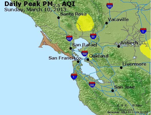 Peak Particles PM<sub>2.5</sub> (24-hour) - https://files.airnowtech.org/airnow/2013/20130310/peak_pm25_sanfrancisco_ca.jpg