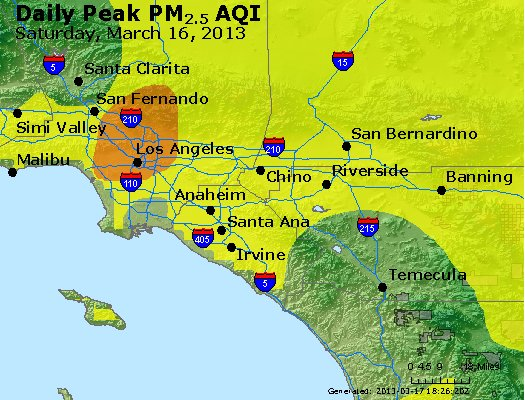 Peak Particles PM<sub>2.5</sub> (24-hour) - https://files.airnowtech.org/airnow/2013/20130316/peak_pm25_losangeles_ca.jpg