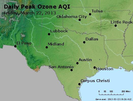 Peak Ozone (8-hour) - https://files.airnowtech.org/airnow/2013/20130322/peak_o3_tx_ok.jpg
