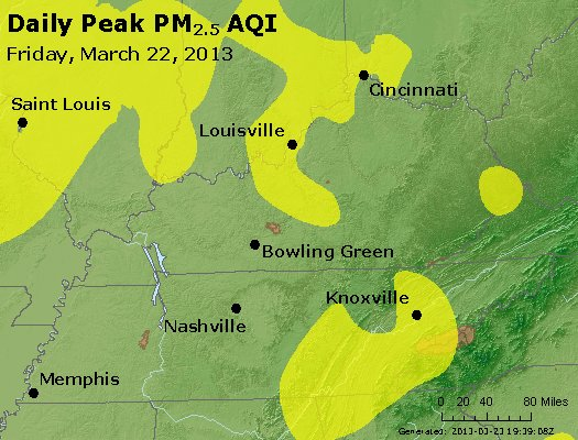 Peak Particles PM<sub>2.5</sub> (24-hour) - https://files.airnowtech.org/airnow/2013/20130322/peak_pm25_ky_tn.jpg