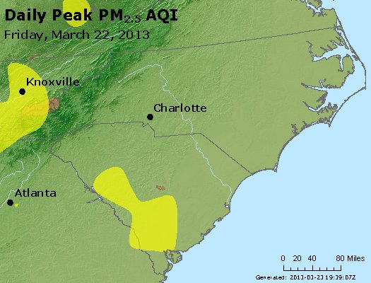 Peak Particles PM2.5 (24-hour) - https://files.airnowtech.org/airnow/2013/20130322/peak_pm25_nc_sc.jpg