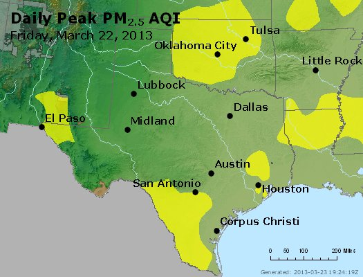 Peak Particles PM2.5 (24-hour) - https://files.airnowtech.org/airnow/2013/20130322/peak_pm25_tx_ok.jpg