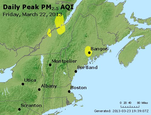 Peak Particles PM<sub>2.5</sub> (24-hour) - https://files.airnowtech.org/airnow/2013/20130322/peak_pm25_vt_nh_ma_ct_ri_me.jpg