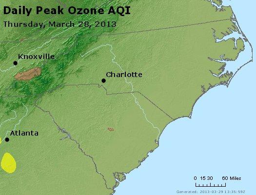 Peak Ozone (8-hour) - https://files.airnowtech.org/airnow/2013/20130328/peak_o3_nc_sc.jpg